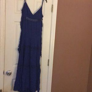 Dresses & Skirts - Royal Blue Maxi Dress